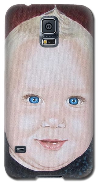 Galaxy S5 Case featuring the painting Baby by Jeepee Aero
