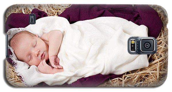 Baby Jesus Nativity Galaxy S5 Case