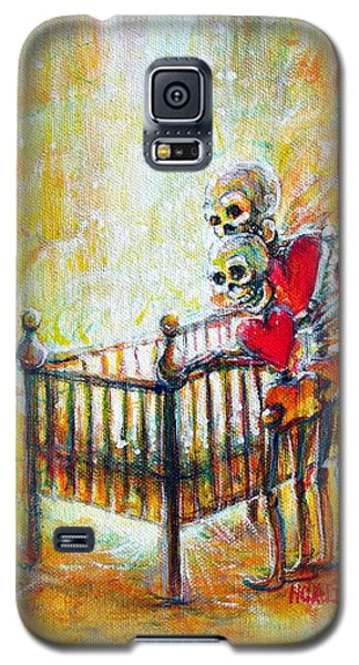 Galaxy S5 Case featuring the painting Baby Love by Heather Calderon
