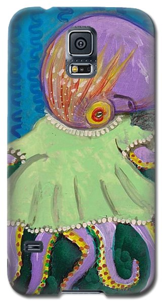 Baby Octopus In A Dress Galaxy S5 Case
