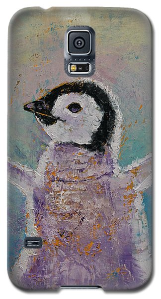 Baby Penguin Galaxy S5 Case by Michael Creese