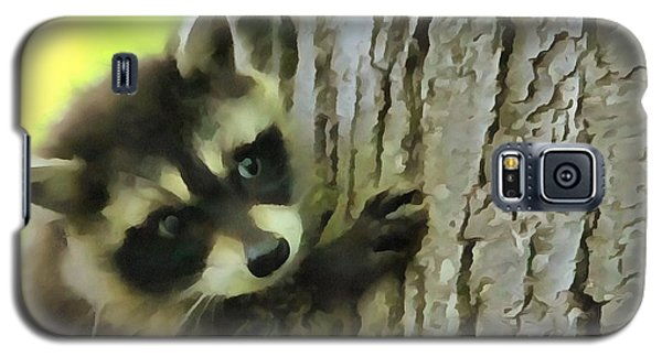 Baby Raccoon In A Tree Galaxy S5 Case