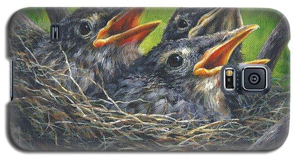 Baby Robins Galaxy S5 Case