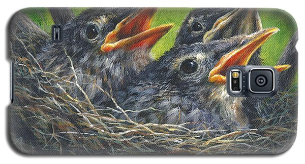 Baby Robins Galaxy S5 Case