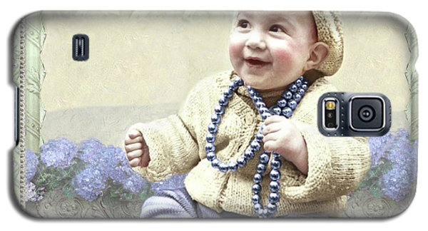 Baby Wears Beads Galaxy S5 Case