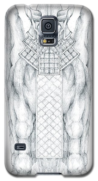 Babylonian Sphinx Lamassu Galaxy S5 Case by Curtiss Shaffer