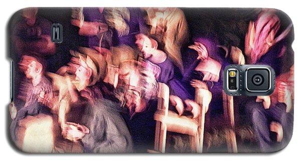 Bacchanalian Freak Show With Hieronymus Bosch Treatment Galaxy S5 Case