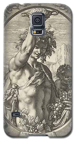 Bacchus God Of Ectasy Galaxy S5 Case by R Muirhead Art