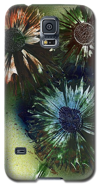 Bachelor Button Trio Galaxy S5 Case