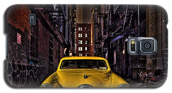 Back Alley Taxi Cab Galaxy S5 Case