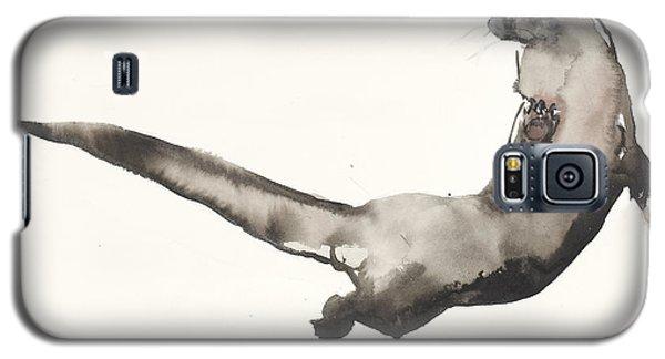Back Awash   Otter Galaxy S5 Case by Mark Adlington