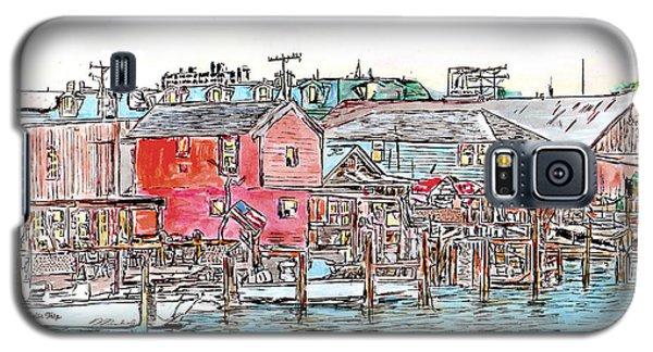 Back Bay, Atlantic City, Nj Galaxy S5 Case