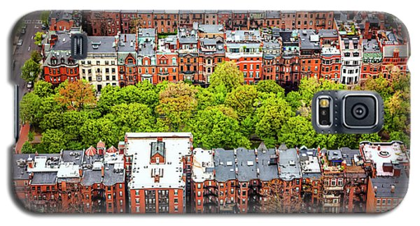 Galaxy S5 Case featuring the photograph Back Bay Boston  by Carol Japp