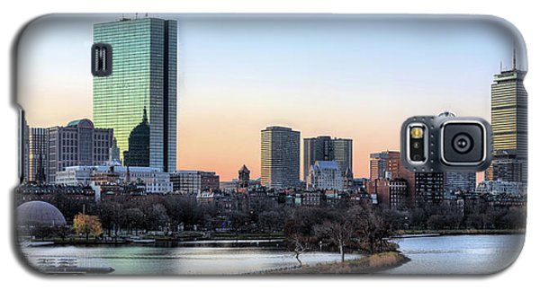 Back Bay Sunrise Galaxy S5 Case