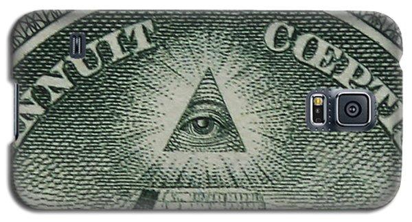 Back Of 1 Dollar Bill Galaxy S5 Case