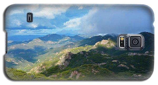 Backbone Trail Santa Monica Mountains Galaxy S5 Case