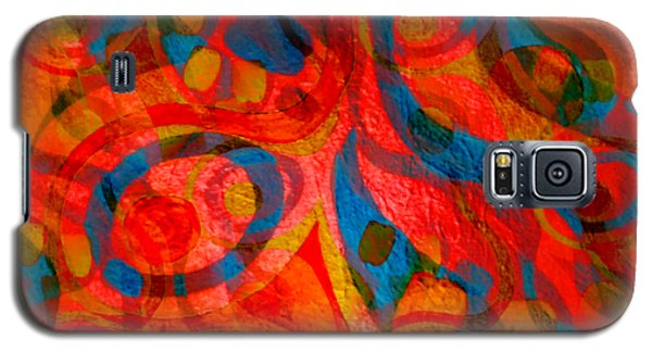 Background Choice Coffee Time Abstract Galaxy S5 Case
