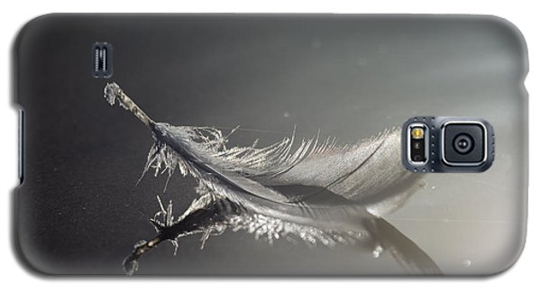 Backlit Feather Galaxy S5 Case