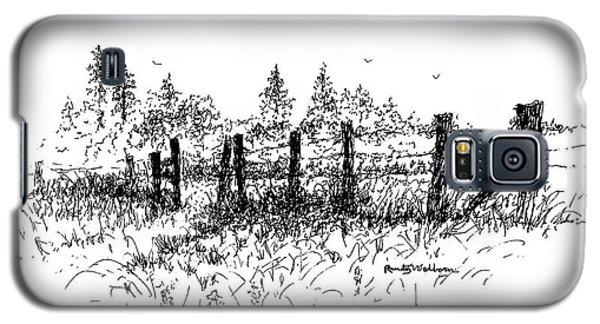 Backlit Fence Galaxy S5 Case