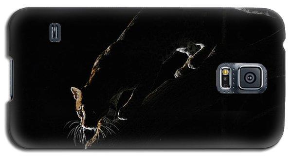 Backlit Ocelot Galaxy S5 Case by Wade Aiken