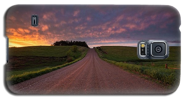 Galaxy S5 Case featuring the photograph Backroad To Heaven  by Aaron J Groen