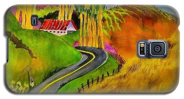 Backroads Sonoma County  Galaxy S5 Case