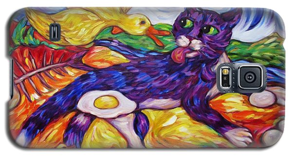 Bad Kitty Gets Caught Again Galaxy S5 Case by Dianne  Connolly
