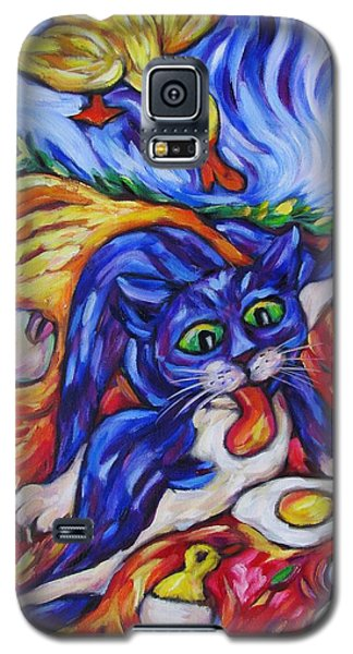 Bad Kitty Gets Caught Galaxy S5 Case