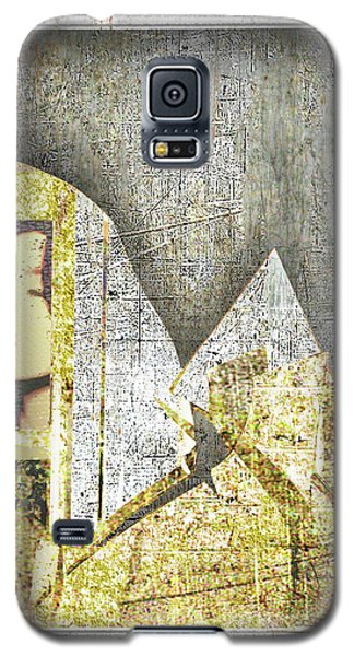 Galaxy S5 Case featuring the mixed media Bad Luck by Tony Rubino