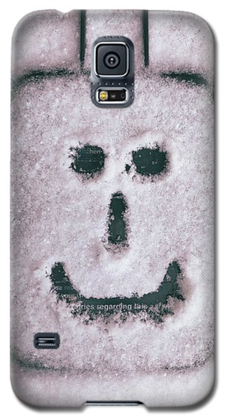 Bad Weather, Good Face Galaxy S5 Case