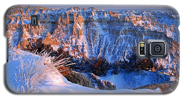 Badlands At Sunset Galaxy S5 Case