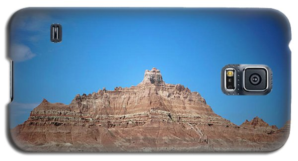 Galaxy S5 Case featuring the photograph Badlands Canyon by Heidi Hermes