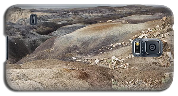 Galaxy S5 Case featuring the photograph Badlands In Petrified Forest by Melany Sarafis