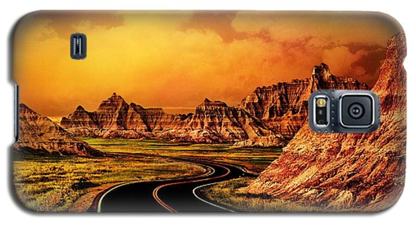 Badlands - South Dakota Galaxy S5 Case