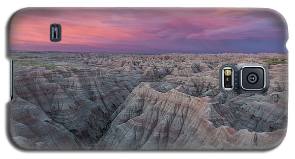Badlands Sunrise Galaxy S5 Case