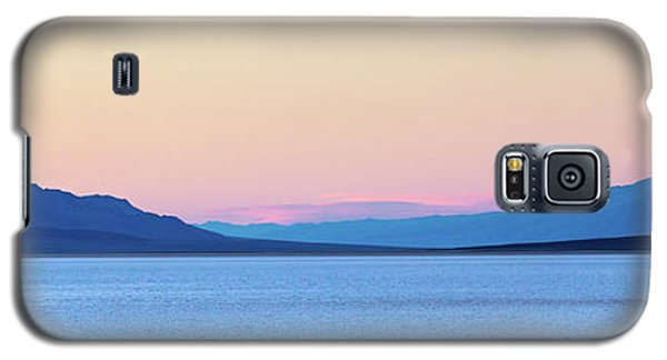 Galaxy S5 Case featuring the photograph Badwater - Death Valley by Peter Tellone