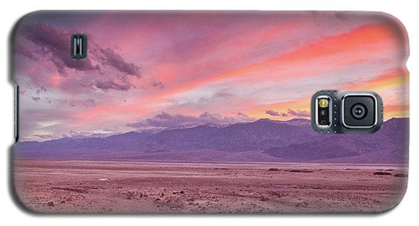 Badwater Sunset Galaxy S5 Case