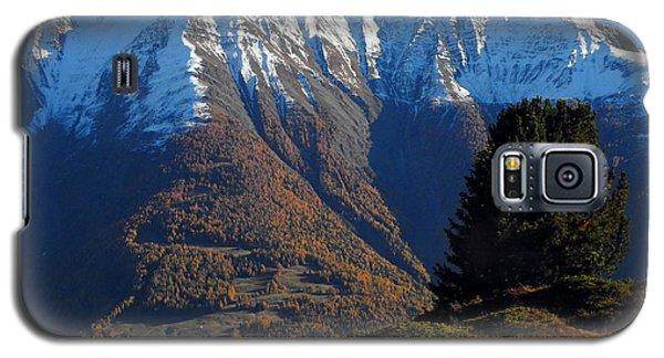 Baettlihorn In Valais, Switzerland Galaxy S5 Case by Ernst Dittmar