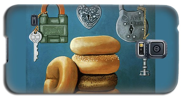 Bagels And Locks Galaxy S5 Case