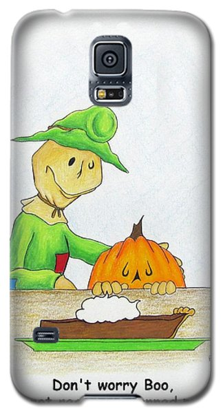 Baggs And Boo Canned Pumpkin Galaxy S5 Case