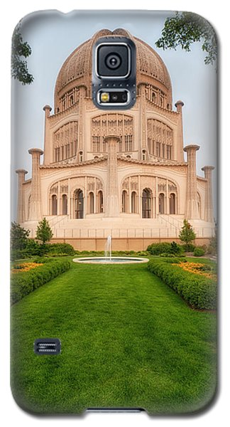 Galaxy S5 Case featuring the photograph Baha'i Temple - Wilmette - Illinois - Veritcal by Photography  By Sai