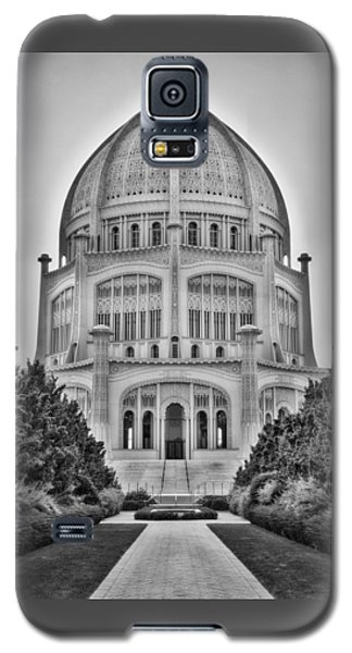 Baha'i Temple - Wilmette - Illinois - Vertical Black And White Galaxy S5 Case