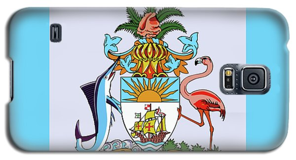 Bahamas Coat Of Arms Galaxy S5 Case by Movie Poster Prints
