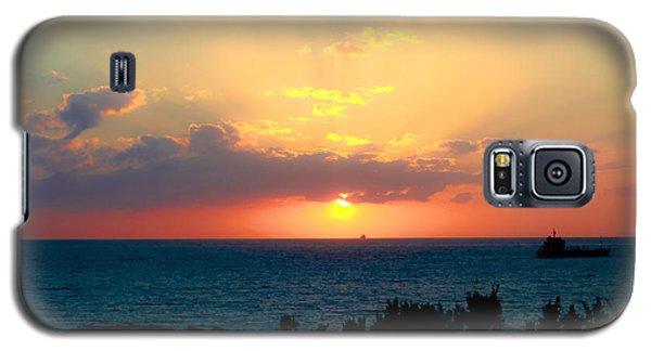 Bahamas Sunset Galaxy S5 Case