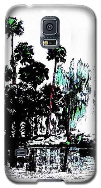 Galaxy S5 Case featuring the painting Bahia San Lucas by Roberto Prusso
