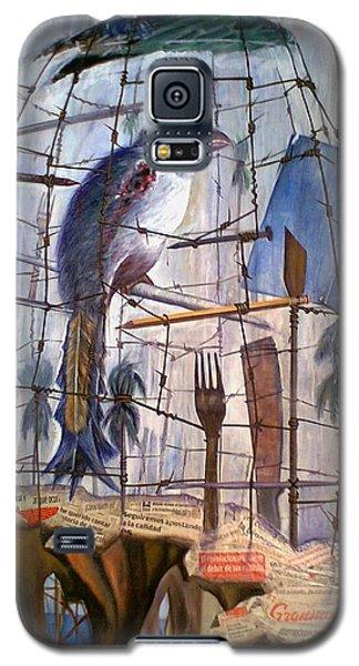 Bajo Mis Propias Alas Galaxy S5 Case by Jorge L Martinez Camilleri