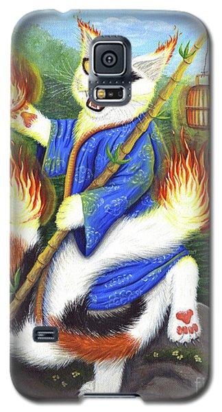 Bakeneko Nekomata - Japanese Monster Cat Galaxy S5 Case