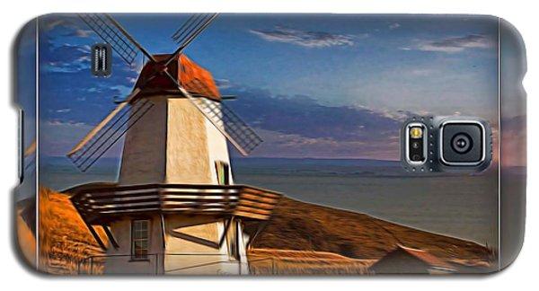 Baker City Windmill_1a Galaxy S5 Case