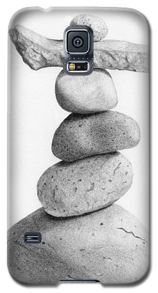 Balance 4  Drawing  Galaxy S5 Case by Garry McMichael