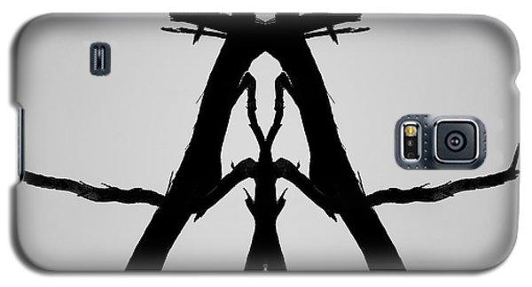 Galaxy S5 Case featuring the photograph Balanced I Bw by David Gordon